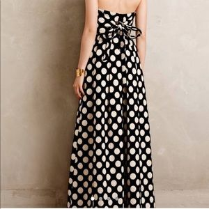 Tracy Reese Polka Dot Gown with pockets